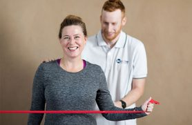 Why exercise plays an important role in treating chronic back pain